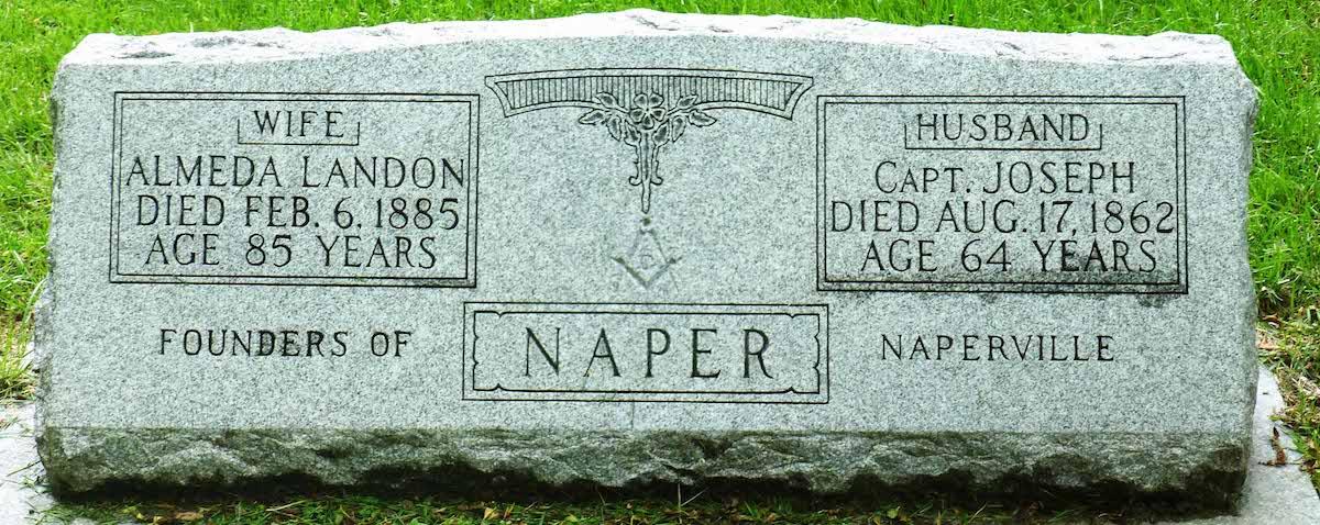 Joseph Naper's Grave